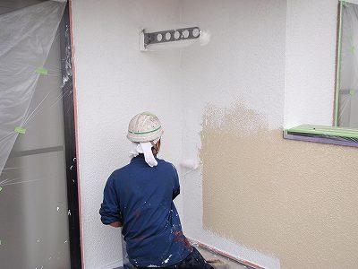 柏市逆井M様邸 外壁塗装