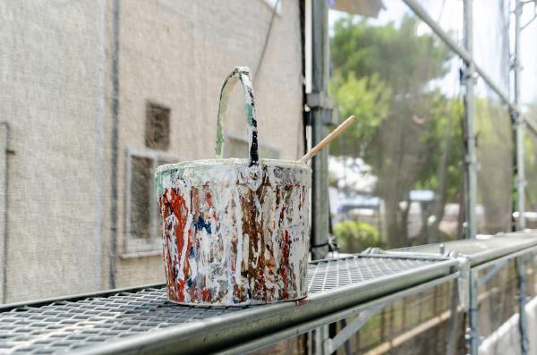 外壁塗装植物