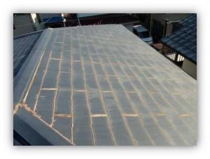 柏市逆井C様施工前の屋根の外観