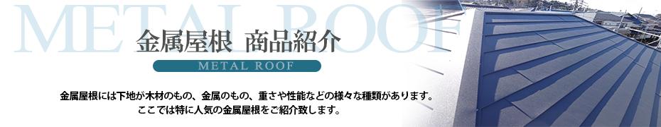 屋根 商品紹介