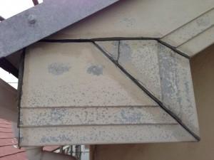 千葉県浦安市 I様邸 付帯塗装:破風板 施工前