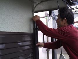 雨樋を取り付け、完成2