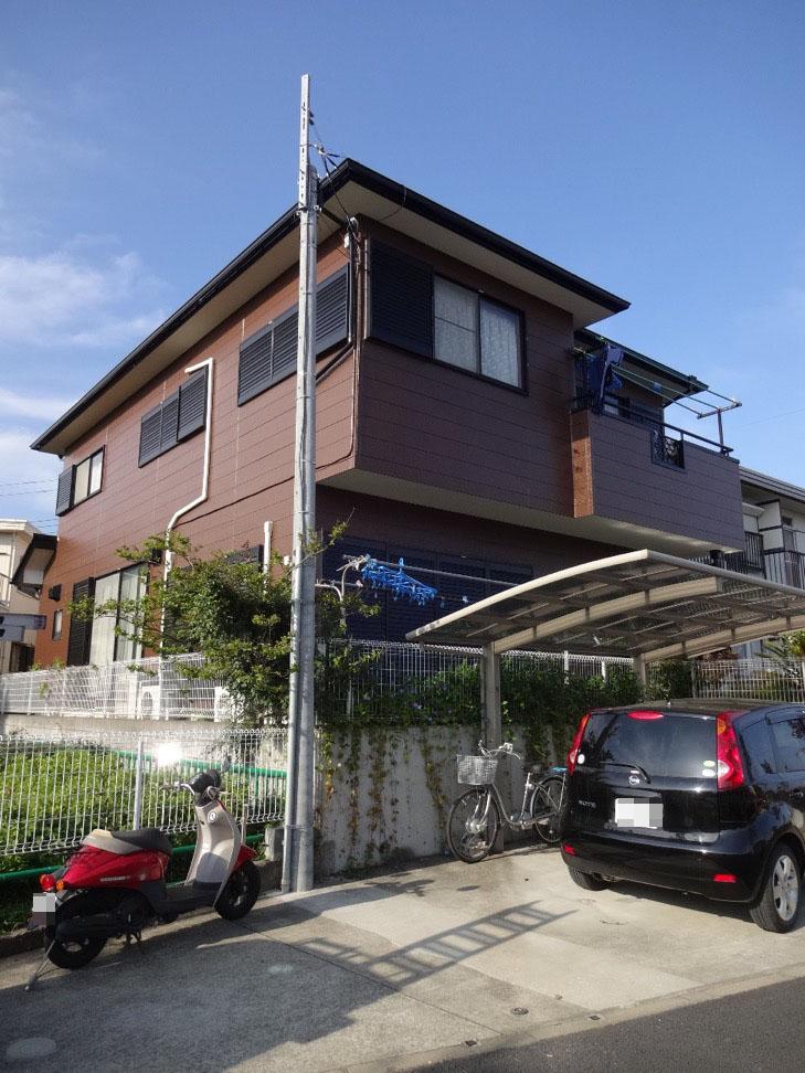 千葉県千葉市 O様邸 サイディングを外壁塗装 ダイヤモンドコート