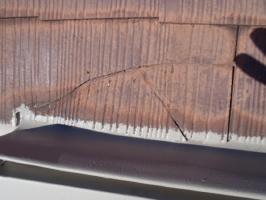 スレート瓦の割れ補修
