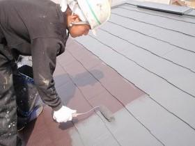柏市逆井M様邸 屋根塗装