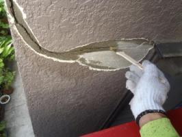 外壁の剥がれ補修4