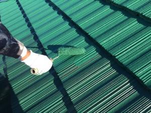 流山市I様邸 屋根塗装