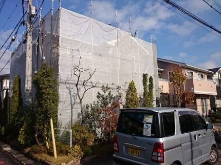 埼玉県吉川市足場工事
