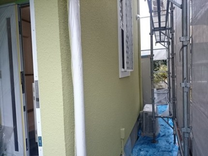 埼玉県吉川市外壁塗装完成後
