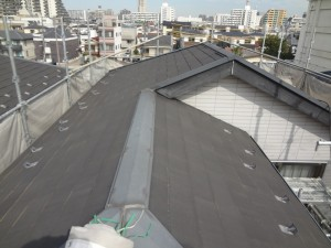 江東区E様邸 屋根塗装