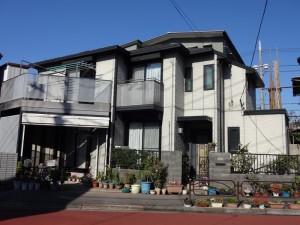東京都葛飾区S様邸外観 ビフォー