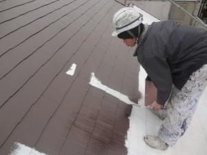 柏市Y様邸 屋根塗装