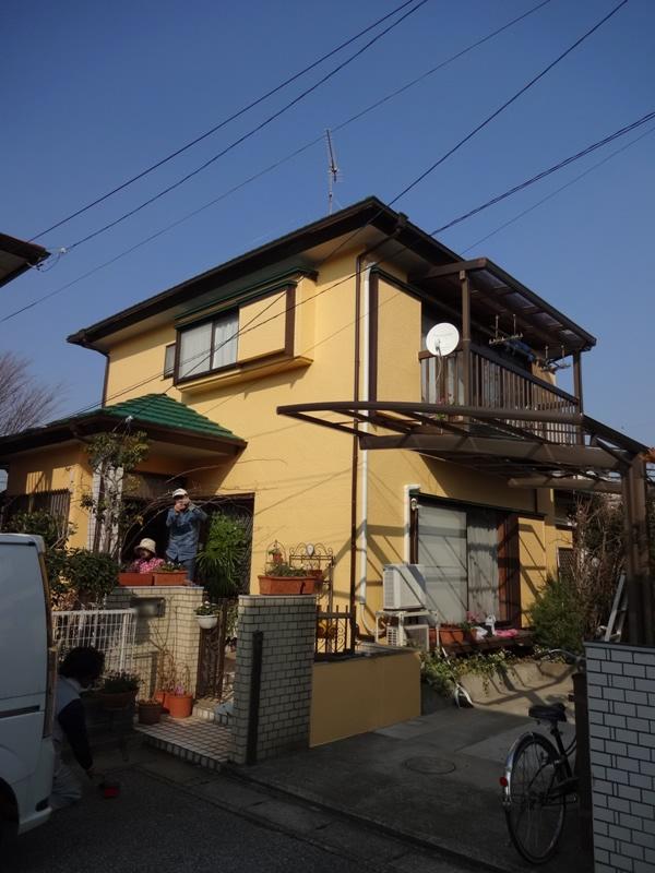 千葉県流山市 I様邸 ファインシリコンフレッシュ 外壁・屋根・付帯塗装