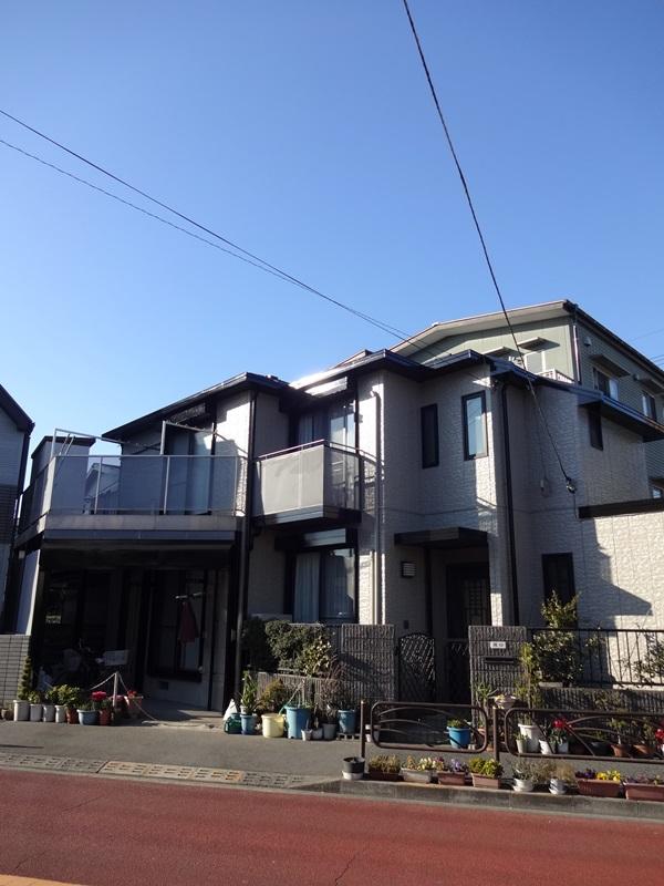東京都葛飾区 S様邸 水性シリコンセラUV 外壁・屋根・付帯塗装