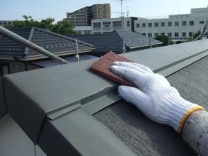 千葉県市川市 屋根塗装2