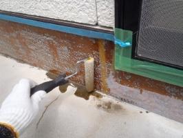 千葉県野田市K様邸の外壁塗装と屋根塗装工程:専用プライマー
