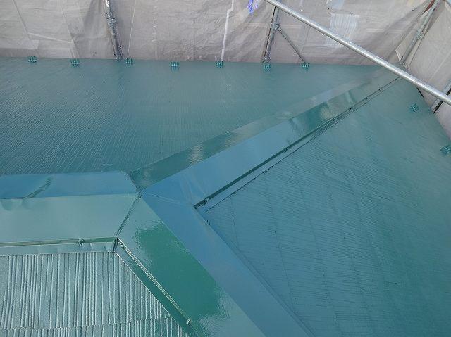 柏市柏T様邸 屋根塗装