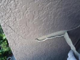 外壁の剥がれ補修2