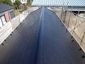 千葉県市川市 屋根塗装 施工後