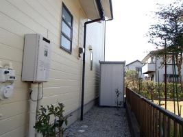 千葉県取手市A様邸の外壁塗装と屋根塗装工程:その他の付帯塗装
