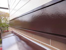 千葉県白井市S様邸の外壁塗装と屋根塗装工程:その他の付帯塗装