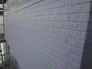 千葉県野田市 O様邸 外壁塗装と屋根塗装の外壁の施工後写真
