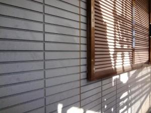 龍ヶ崎市の外壁塗装と屋根塗装の外壁の施工前写真
