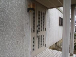 白井市 I様外壁塗装と屋根塗装の外壁の施工前写真