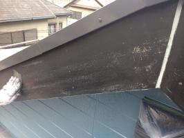 千葉県柏市M様邸の外壁塗装と屋根塗装工程:ケレン