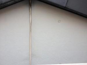 茨城県取手市 A様邸 外壁塗装と屋根塗装の破風板の施工前写真