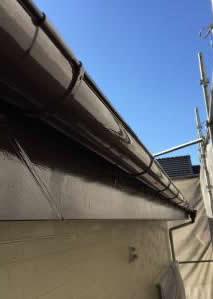 千葉県市川市真間 O様邸(アパート) 防錆型ファインSi 付帯塗装