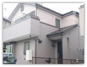 我孫子市の外壁塗装と屋根塗装の外観の施工後写真