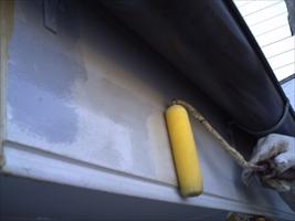 千葉県柏市和田様邸の外壁塗装と屋根塗装工程:下塗り