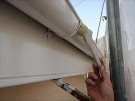 千葉県柏市和田様邸の外壁塗装と屋根塗装工程:上塗り