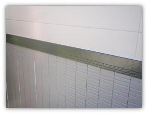 我孫子市の外壁塗装と屋根塗装の幕板の施工後写真