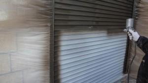 千葉県柏市M様邸の外壁塗装と屋根塗装工程:ファインシリコンフレッシュ