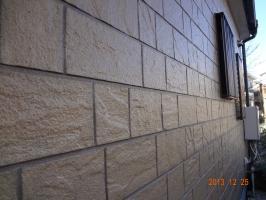 施工後1年後の外壁塗膜の状態