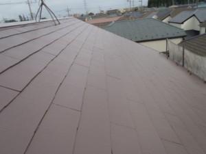 野田市の外壁塗装と屋根塗装の屋根の施工後写真