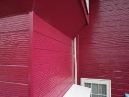 千葉県印西市H様邸の外壁塗装と屋根塗装工程:上塗り