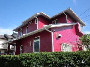 印西市の外壁塗装と屋根塗装の外観の施工後写真