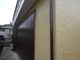 茨城県取手市H様邸の外壁塗装と屋根塗装工程:目地のコーキングの打ち替え