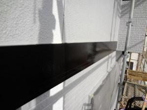 幕板塗装施工後