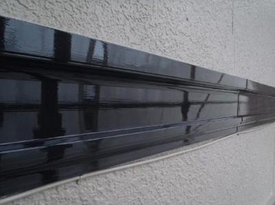 茨城県取手市 M様邸 外壁塗装と屋根塗装の幕板の施工後写真