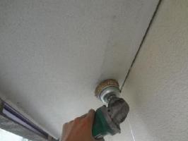 茨城県取手市O様邸の外壁塗装と屋根塗装工程:ケレン
