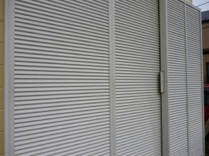 千葉県柏市 K様邸 外壁塗装と屋根塗装の雨戸の施工後写真