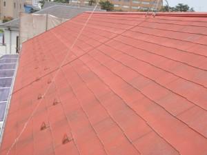 千葉県柏市 K様邸 外壁塗装と屋根塗装の屋根の施工前写真