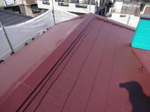 千葉県野田市 O様邸 外壁塗装と屋根塗装の屋根の施工後写真