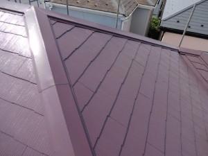 千葉県松戸市 外壁塗装と屋根塗装の屋根の施工後写真