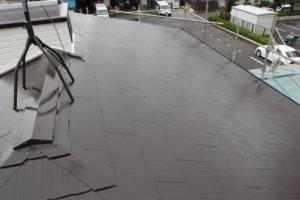 成田市の外壁塗装と屋根塗装の屋根の施工後写真
