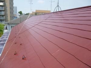 千葉県柏市 K様邸 外壁塗装と屋根塗装の屋根の施工後写真